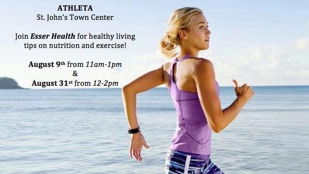 Esser Health at Athleta!  @ Athleta